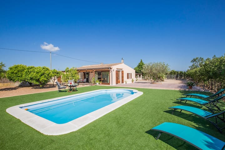 SES FORQUES - Villa for 5 people in Algaida.