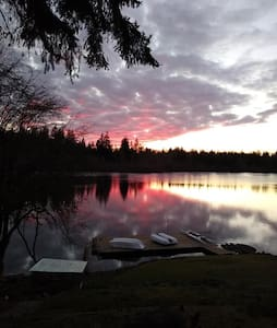 Serene Shadow Lake-Come fish and watch eagles.