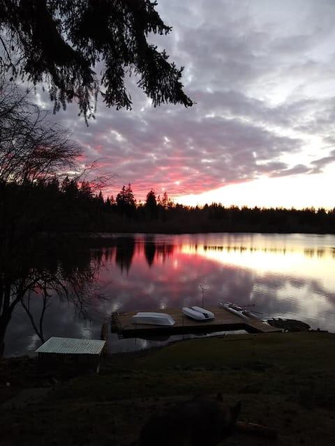 Serene Shadow Lake-3-Bed Healthy Safe