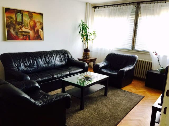 Fully equipped apartment in a great location! w/AC