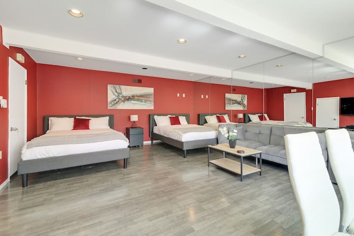 ❤️NEW! Smartly furnished home ☀️ 7 min to Caltrain