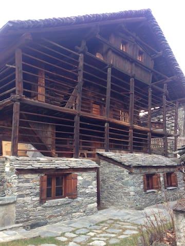 Baita Walser 2 - Alagna Valsesia - Alpstuga