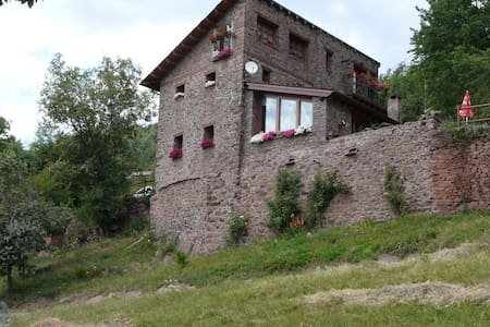 casa rural en pirineo.Sort. 1340m. hab. d+d - Soriguera