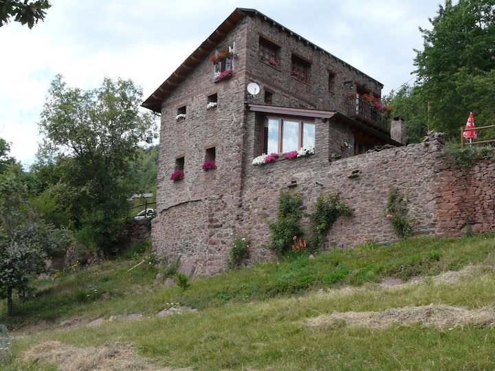 casa rural en pirineo.Sort. 1340m. hab. d+d