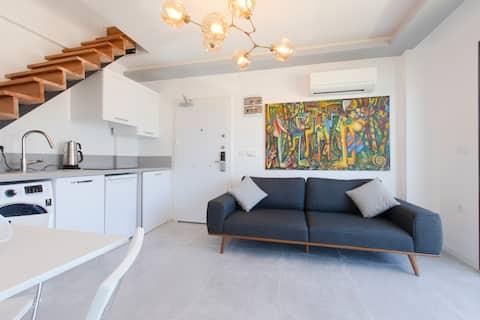 Urla KiteSurf Dublex House w/terrace Luxury NEW