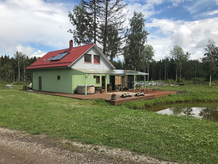 Beautiful house near Tartu
