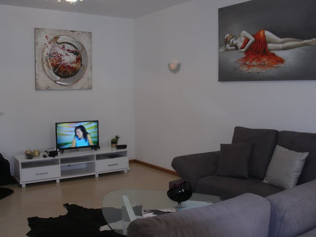 superbe appartement, Condomínio ondas do mar - Praia - Lejlighed