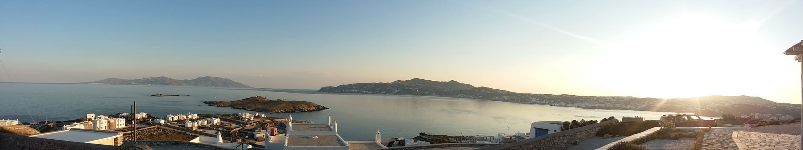 Blue Ocean Mykonos-Luxurious 1 bed apt -Sea View - Ornos - Appartamento