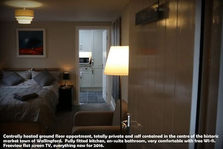 New ground floor studio flat- 2 night minimum stay - Wallingford - Byt