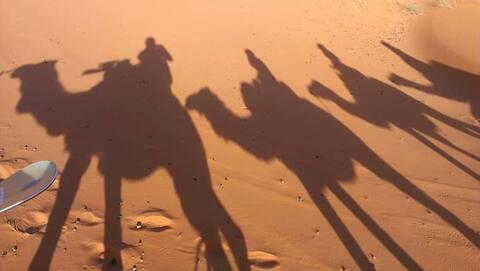 Overnight 🐪 Trek & Berber Camp