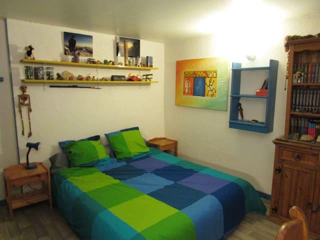 La Cascade: the BLUE ROOM - Chamonix - Bed & Breakfast