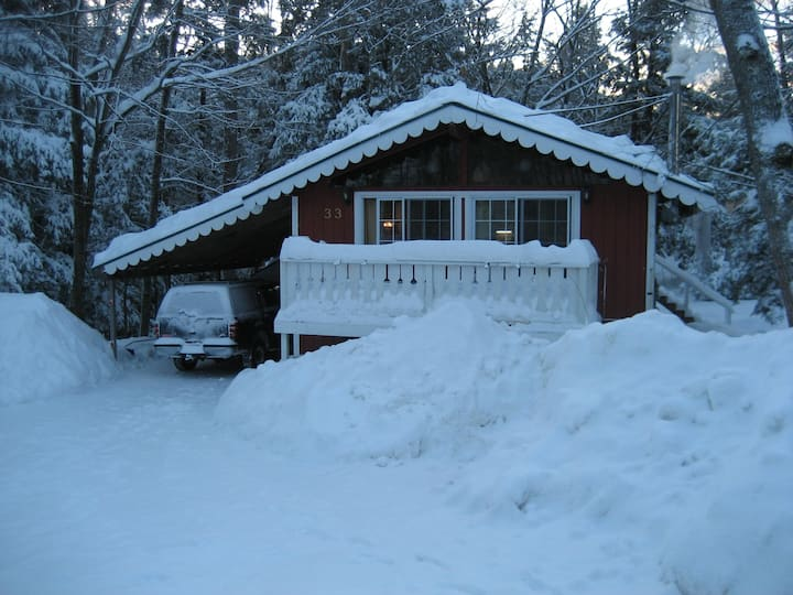 Eidelweiss Chalet/1 min walk to pond/playground