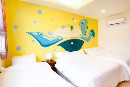 綠島美人魚五人房