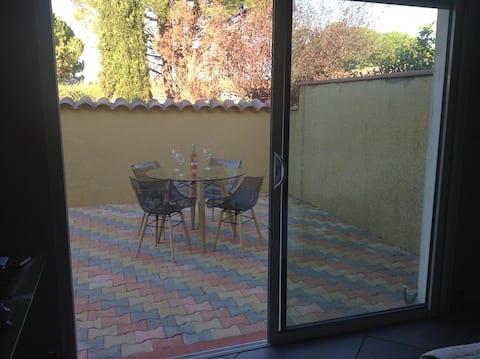 Terrasse extérieur privative