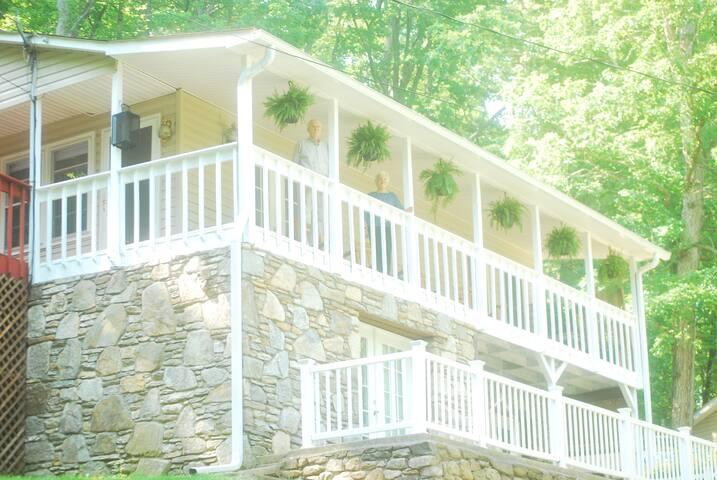 Asheville Mountainside Getaway - Asheville - Appartement