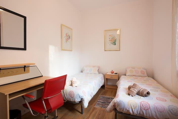 Helles Zimmer im Zentrum mit Wifi - Palma de Mallorca - Wohnung