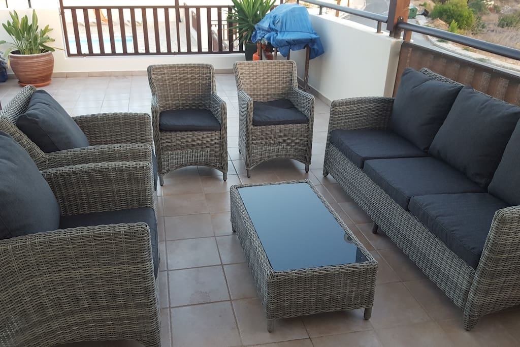 New Rattan furniture - Outside