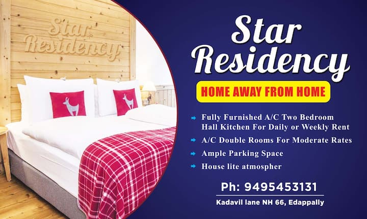 STAR RESIDENCY YOUR HOME AWAY FROM HOME