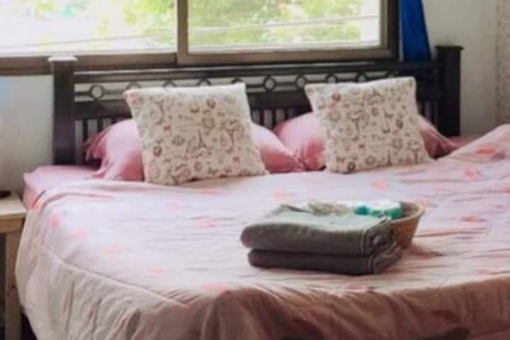 Private double room AC  @Sister House