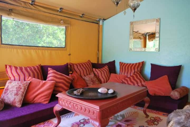 Campo Portakal Eco Glamping in Bedouin tent,Cirali