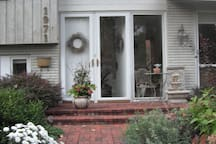Late Summer Front Entrance
