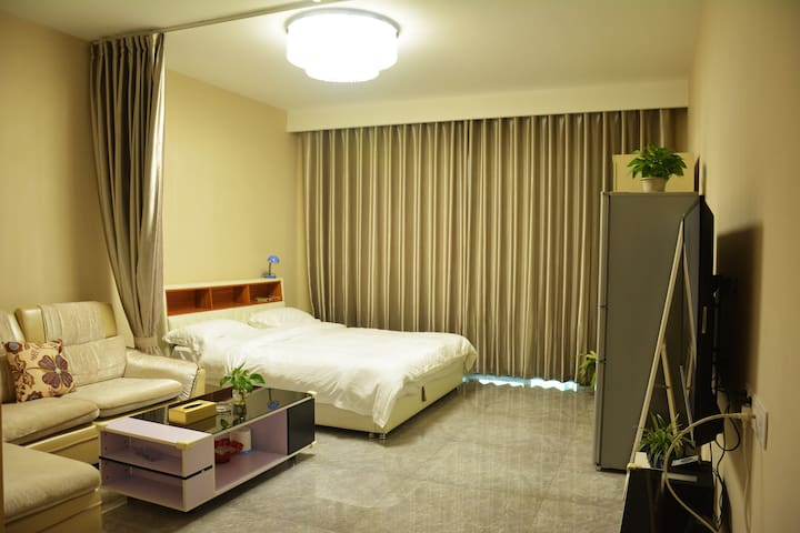 度假家·海口西海岸小2居海景房 可洗衣做饭[10] - Haikou - Apartment