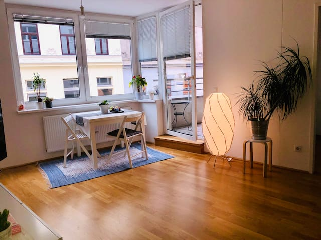 Cozy&Central Hundertwasser flat with NETFLIX