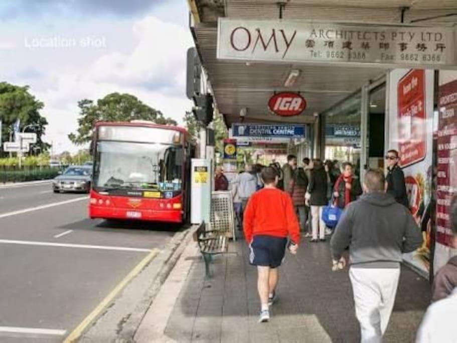 Kingsford bus stop