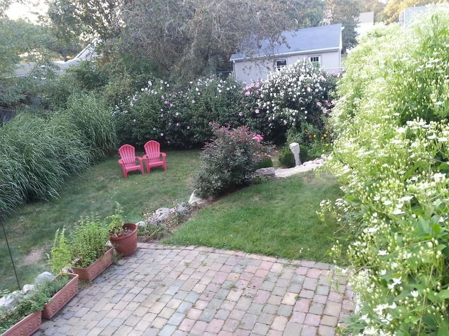 Enjoy the professionally landscaped yard.