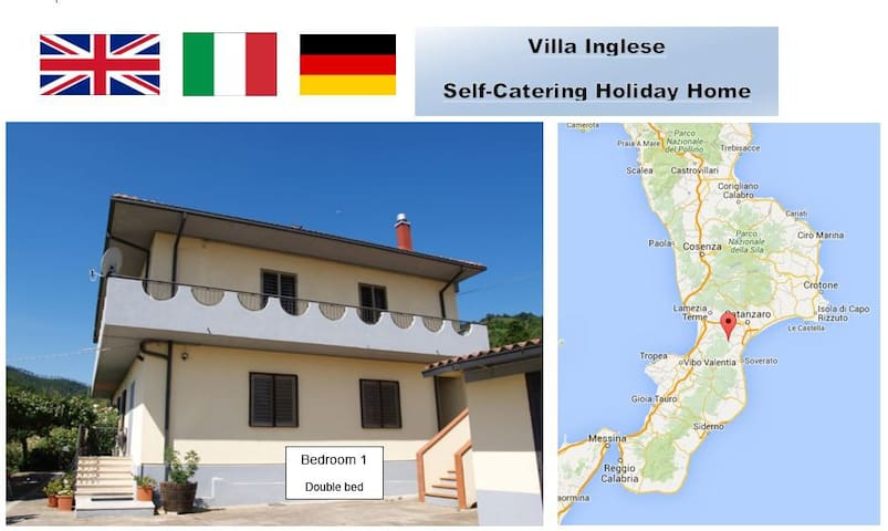 Mountain Location Quiet Retreat 1 plus beaches - Amaroni - Villa