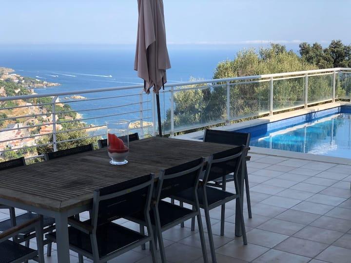 Villa con vistas excepcionales