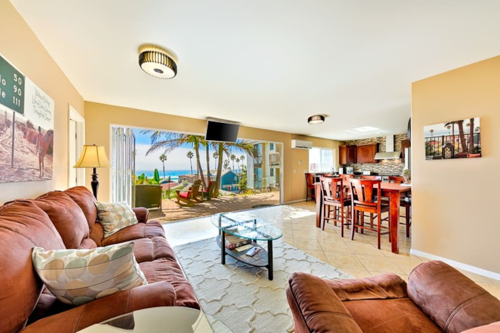 Plenty of room for the whole family to enjoy the living space in this home