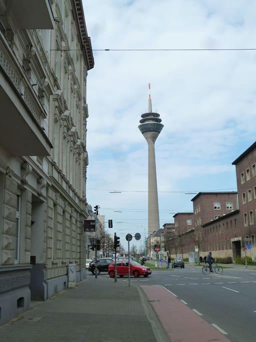 Blick zum Fersehturm