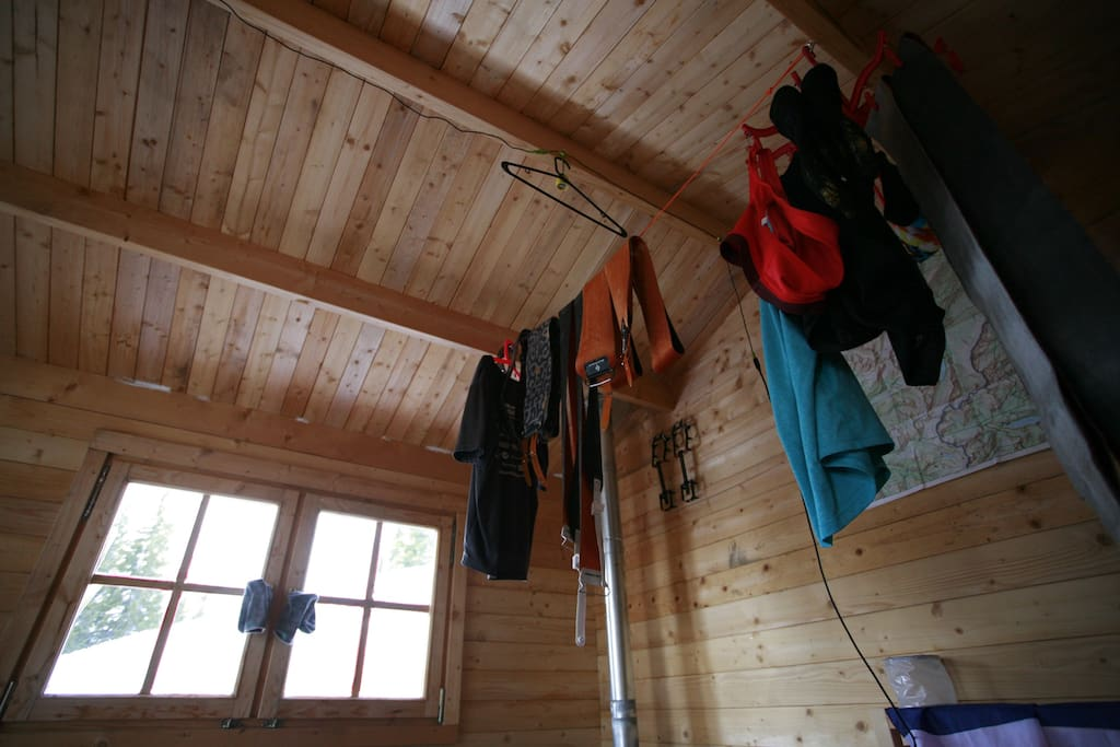 Amazing ski to or hike to cabin vail aspen cabanes for Chair 4 cliffs vail