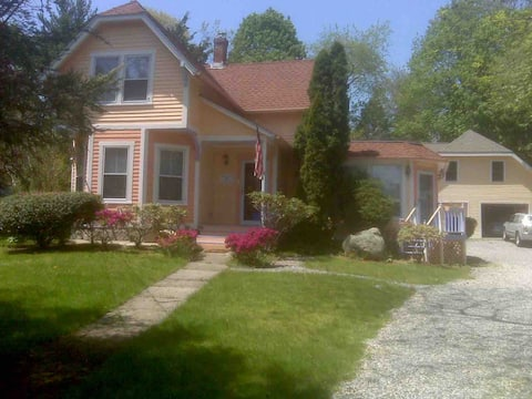 Walk to downtown Mystic, marinas, trails & dining!