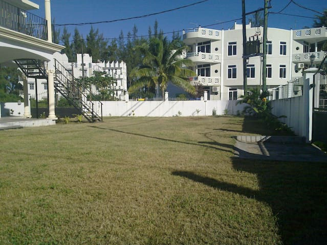 Large garden space