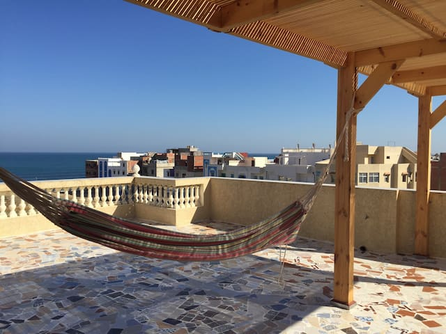 Flat with stunning view on ocean - Asilah - Apartemen