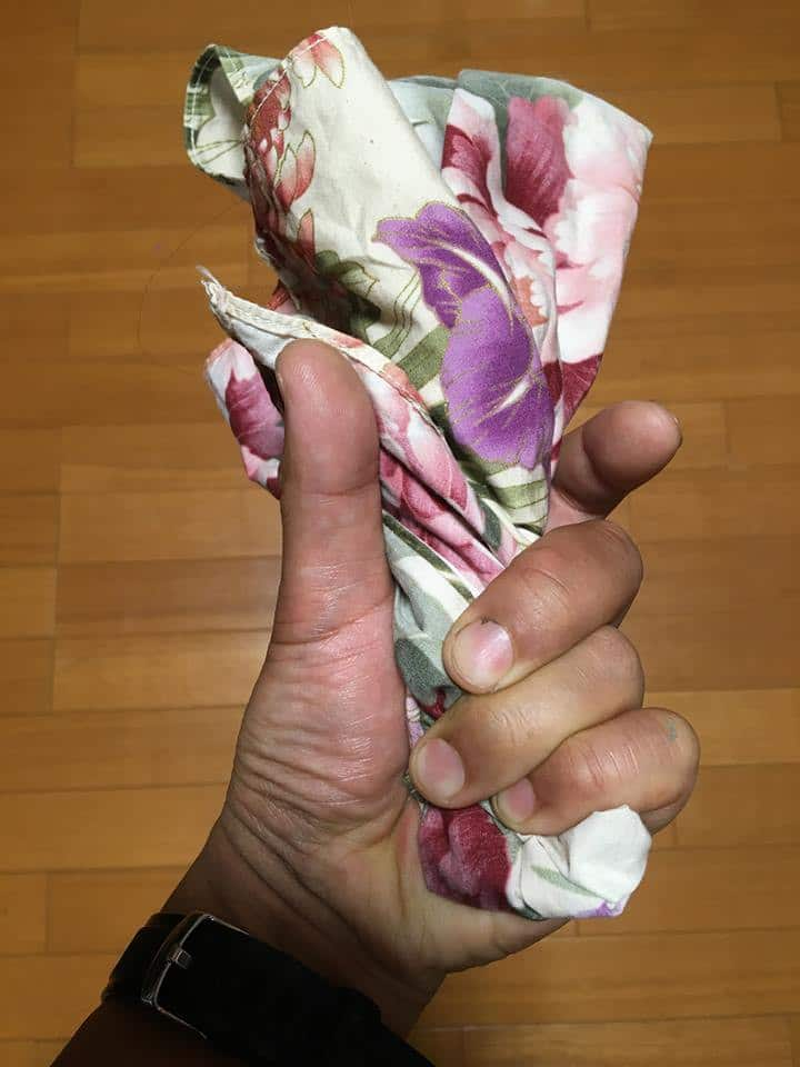You can learn Japanese way of squeezing.