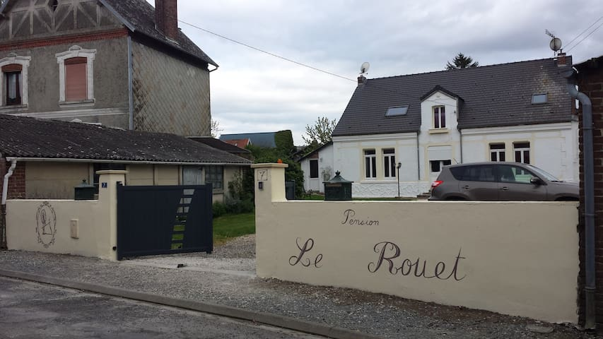 chambre axe Peronne-Bapaume - Ytres - Haus