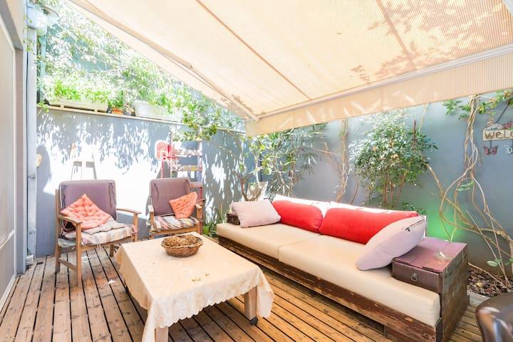 +++ The Stylish Family Villa @ Neve Tzedek - Tel Aviv-Yafo - Villa