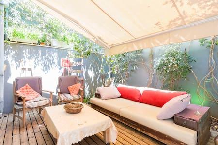 +++ The Stylish Family Villa @ Neve Tzedek - Tel Aviv-Yafo