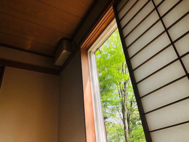 (可接送)MK House 富士山山中湖畔30秒 独立房间 個室(Fuji,Yamanakako