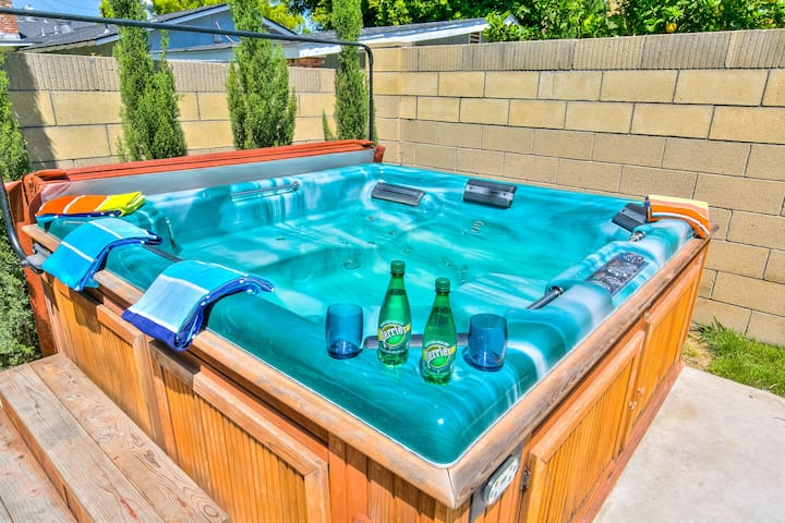 *Walk D'land**Hot Tub+Game Room*Fireworks View* - Anaheim - Hus