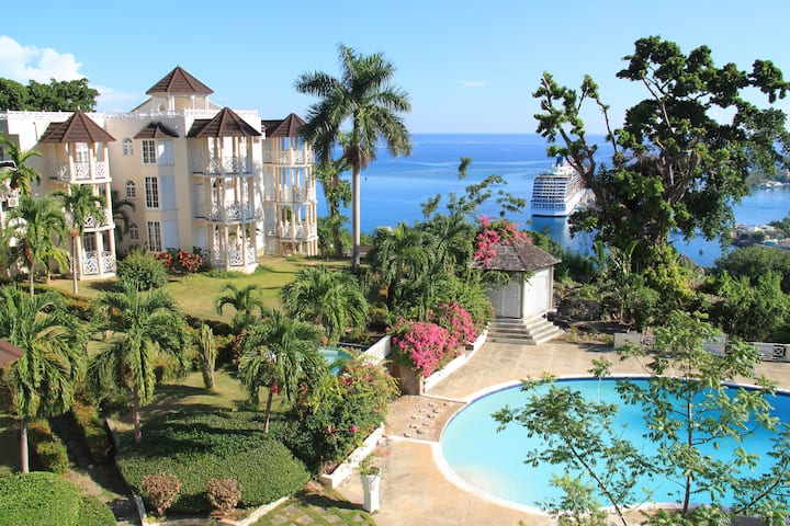 Ocho Rios Apartment with Beautiful Ocean View