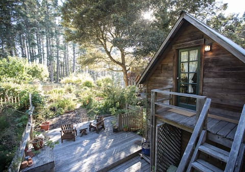 Cozy Garden Room minutes from the Beach