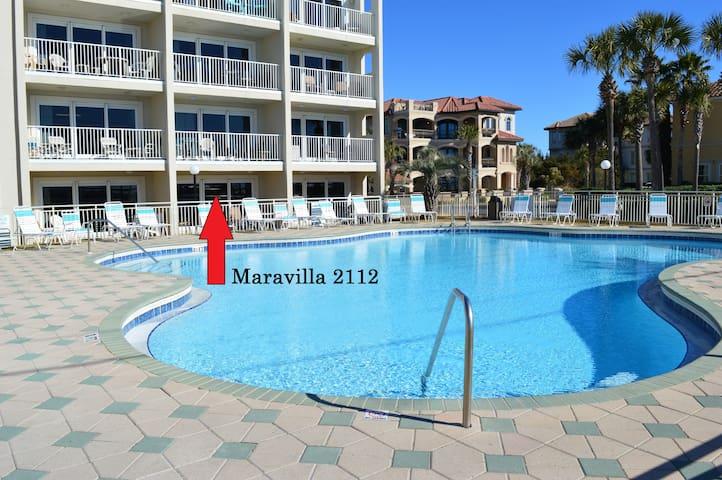 Maravilla-Best 1 BR in Destin! Poolside+Remodeled