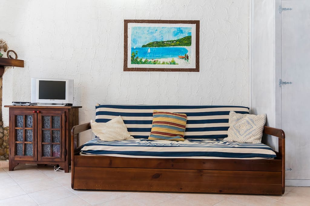 divano a due letti
