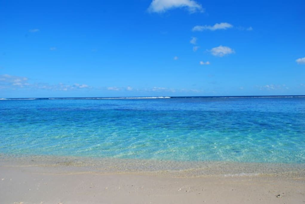 Beautiful Flic-en-Flac Beach of Mauritius, the one and only!