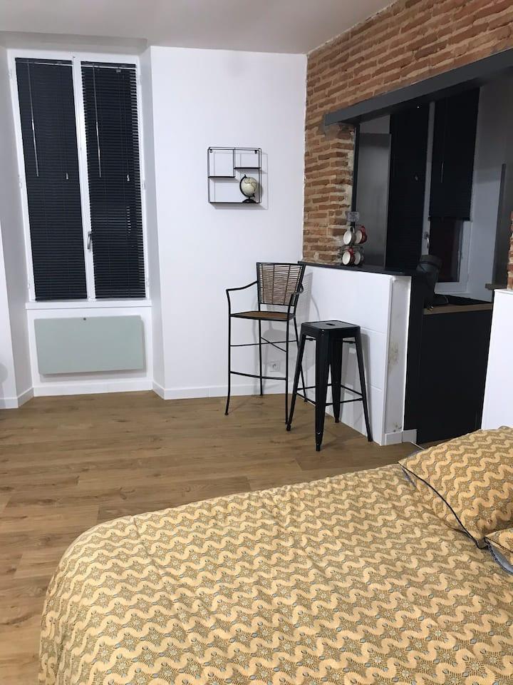 Studio meublé centre ville Mont-de-Marsan