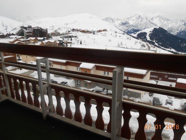 Balcon Table Chaises